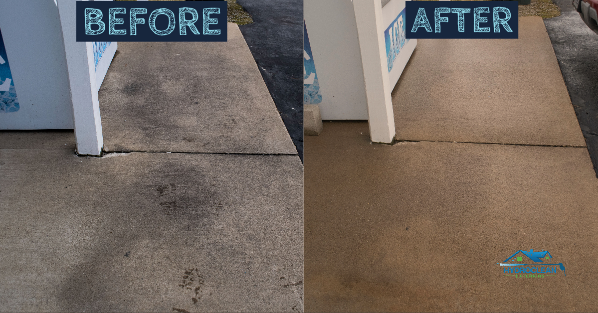 Concrete cleaning canton oh