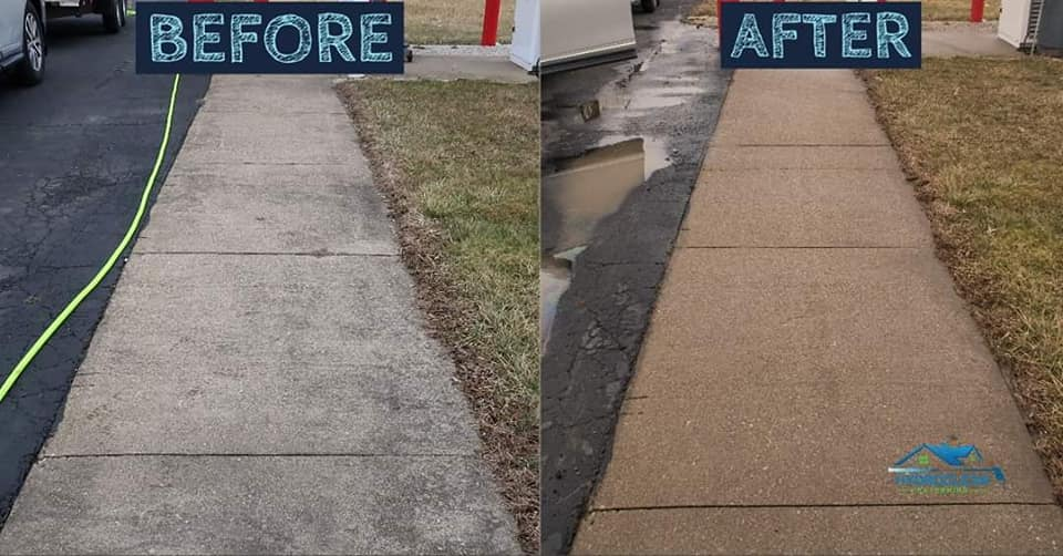 driveway cleaning Uniontown