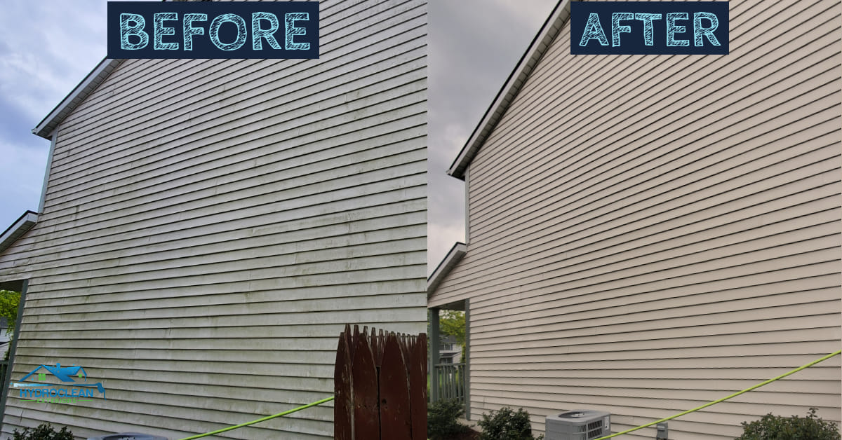 exterior house washing services